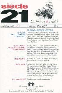 Siècle 21, littérature et société, n° 15 -