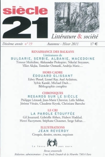 Siècle 21, littérature et société, n° 19 -