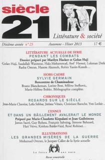 Siècle 21, littérature et société, n° 23 -