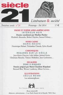 Siècle 21, littérature et société, n° 24 -