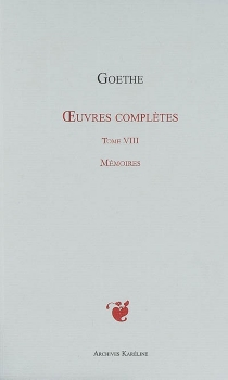 Oeuvres complètes - Johann Wolfgang vonGoethe