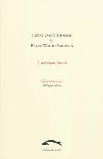 Correspondance  Correspondence - Ralph WaldoEmerson