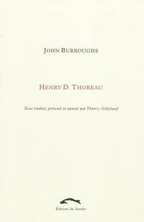 Henry D. Thoreau - JohnBurroughs