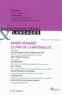 Communication et langages, n° 167 -