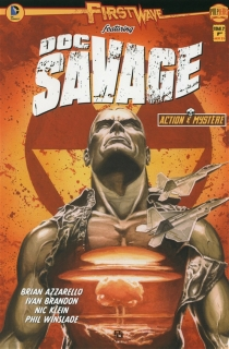 First Wave featuring : Doc Savage - Brian Azzarello