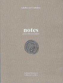 Notes : petites réflexions modestes - AdalberonCrabidou