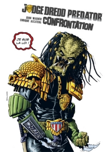 Judge Dredd-Predator : confrontation - Enrique Alcatena