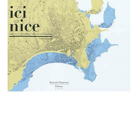 ici nice guide de la ville par les artistes contemporains catalogues d 39 expositions espace. Black Bedroom Furniture Sets. Home Design Ideas