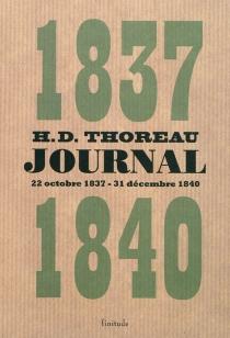Journal - Henry DavidThoreau