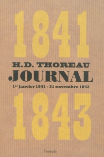 Journal - Henry David Thoreau