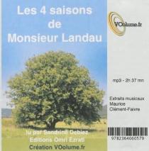 Les quatre saisons de monsieur Landau - ChristopheDrouinaud