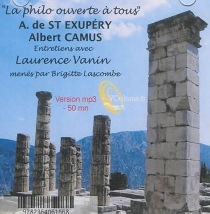 A. de Saint-Exupéry, Albert Camus - BrigitteLascombe