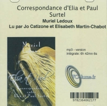 Correspondance d'Elia et Paul Surtel - EliaSurtel