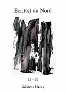 Ecrit(s) du Nord, n° 25-26 -
