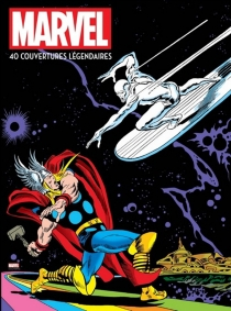 Marvel : 40 couvertures légendaires -