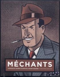 Méchants : crapules et autres vilains de la bande dessinée : jaquette Olrik - ChristopheQuillien