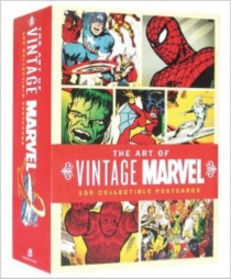 Marvel : coffret 100 cartes postales -