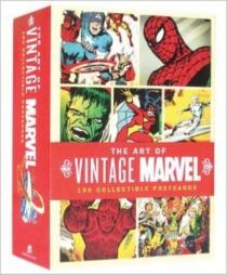 Marvel : coffret 100 cartes postales -