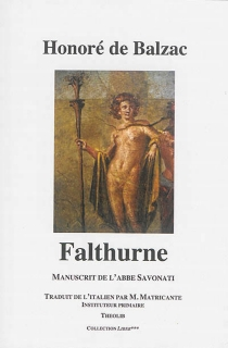 Falthurne : manuscrit de l'abbé Savonati - Honoré deBalzac