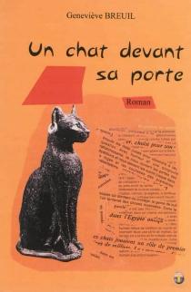 Un chat devant sa porte - GenevièveBreuil Lamant