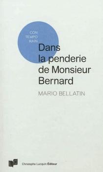 Dans la penderie de Monsieur Bernard : il manque le costume qu'il déteste le plus - MarioBellatin
