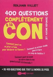 400 questions complètement à la con (et aucune réponse) - BenjaminValliet