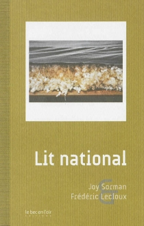 Lit national - Joy Sorman