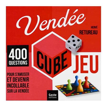 vend e cube jeu 400 questions pour s 39 amuser et devenir incollable sur la vend e autres. Black Bedroom Furniture Sets. Home Design Ideas
