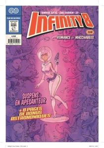 Infinity 8 comics| Romance et macchabées - DominiqueBertail