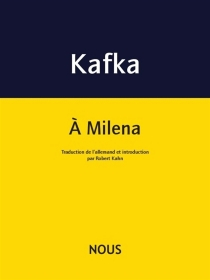 A Milena - FranzKafka
