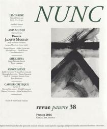 Nunc, n° 38 -