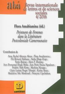 Aba, revue internationale des lettres et des sciences sociales, n° 4 (2016) -