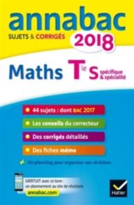 Maths terminale S, spécifique et spécialité : 2018