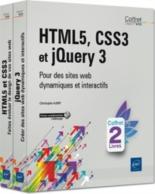 HTML 5, CSS 3 et jQuery 3 : pour des sites web dynamiques et interactifs - ChristopheAubry