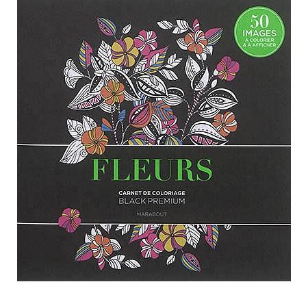 fleurs : carnet de coloriage - autres loisirs créatifs - espace