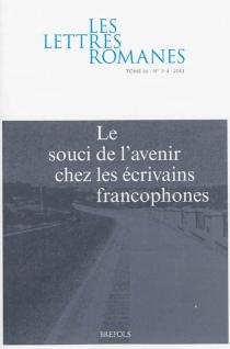 Lettres romanes (Les), n° 66 -
