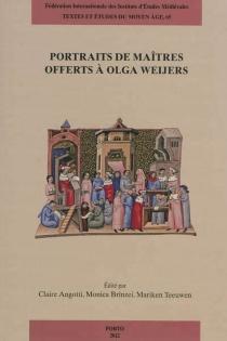 Portraits de maîtres offerts à Olga Weijers -