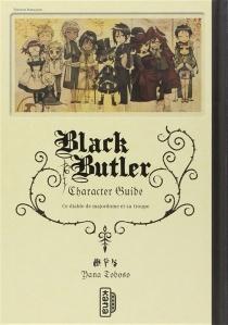 Black Butler : character guide - YanaToboso