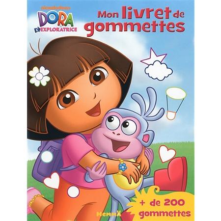 Dora l 39 exploratrice mon livret de gommettes livres - Jeux dora l exploratrice gratuit ...