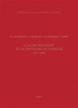 L'université, la Robe et la librairie à Paris : Claude Mignault et le Syntagma de symbolis (1571-1602) - FlorenceVuilleumier Laurens