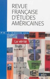 Revue française d'études américaines, n° 133 -