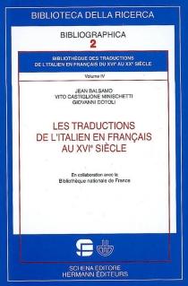 Bibliothèque des traductions de l'italien en français du XVIe au XXe siècle - JeanBalsamo