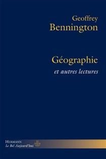 Géographie : et autres lectures - GeoffreyBennington