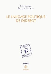 Le langage politique de Diderot -