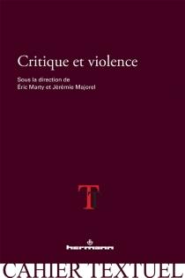 Critique et violence -