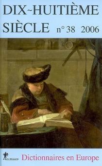 Dix-huitième siècle, n° 38 -