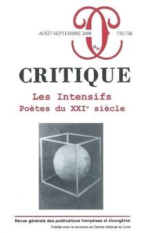 Critique, n° 735-736 -