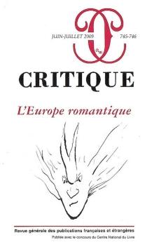 Critique, n° 745-746 -