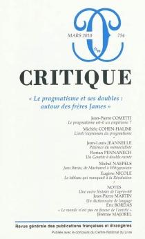 Critique, n° 754 -