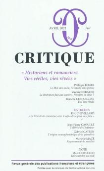 Critique, n° 767 -